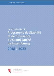 19e actualisation du programme de stabilité et de Croissance du Grand-Duché de Luxembourg 2018-2022